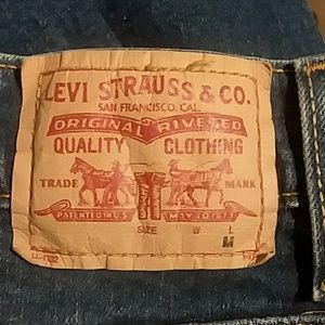 Womens Levi Strauss Jeans